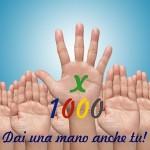 Donaci il tuo 5x1000 - Dai una mano anche tu
