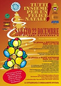 Un felice Natale a Rovereto con gli amici Alpini di Trento