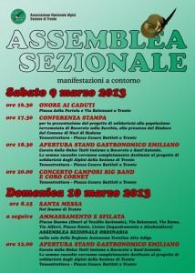 Assemblea sezionale Alpini di Trento