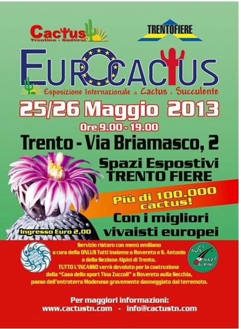 Eurocactus 2013  - volantino