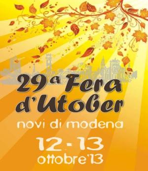 Fera d'Utober 2013 - Novi di Modena